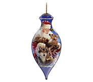 6-1/2 Santas Woodland Friends Ornament by NeQwa - H296547