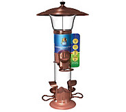 Radiance 1.5 lb Metal Tube Bird Feeder - H349747