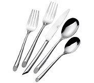 Towle Living Wave 18/0 Stainless Steel 42-pc Service for 8 - H363647