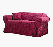 Sure Fit Scroll Sofa Slipcover - H136848