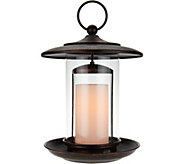 Candle Impressions 12 Birdfeeder with Flameless Candle - H205248