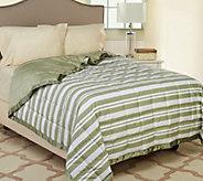 Northern Nights Montauk Stripe 300TC 550FP Reversible KG Down Blanket - H206748