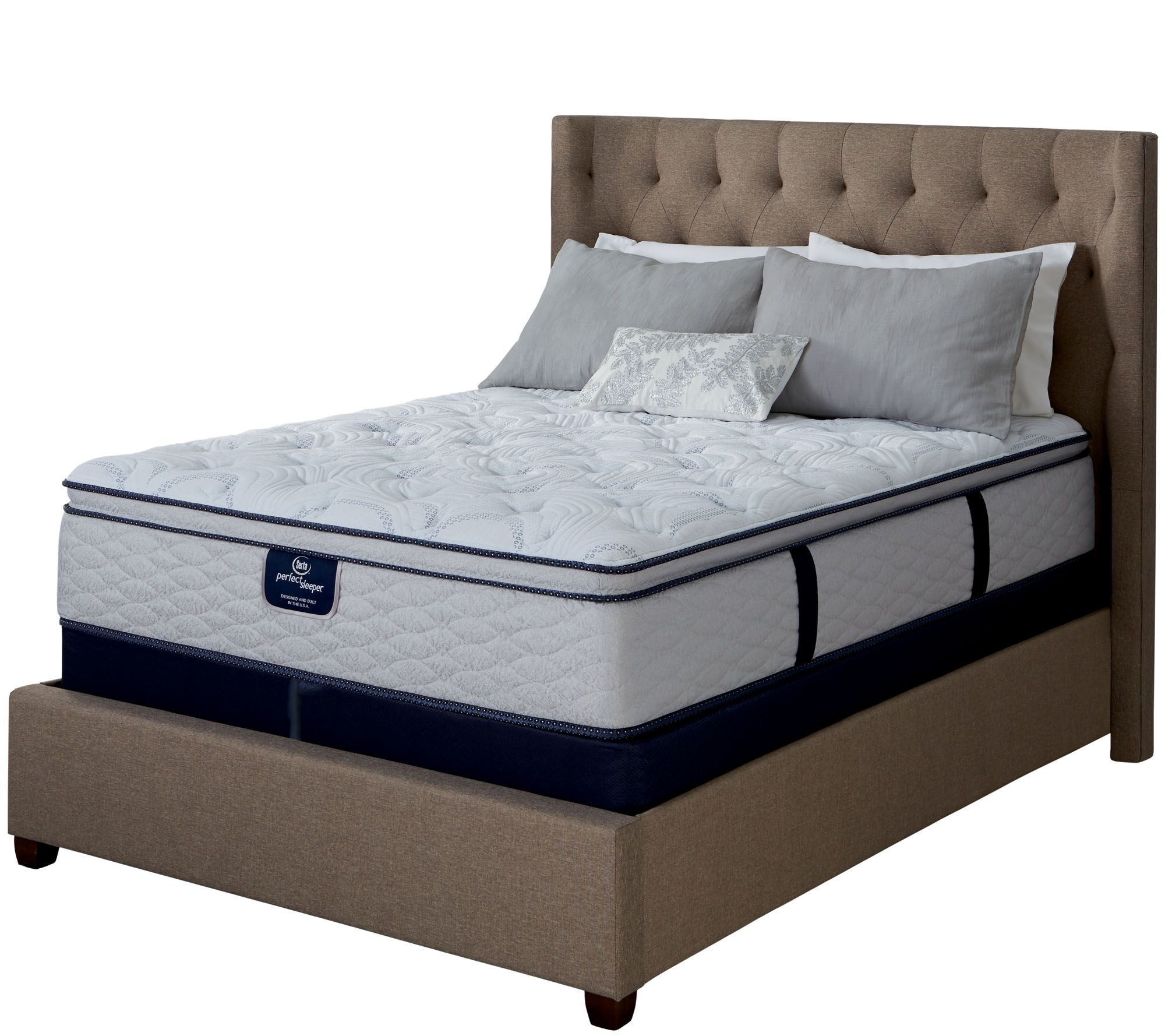 Serta Perfect Sleeper Capriana Eurotop SplitQN Mattress