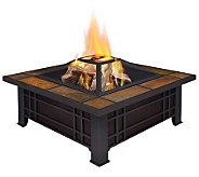 Real Flame Morrison Wood-Burning Fireplace - H281248