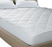 Blue Ridge Quiet Cotton Waterproof 250TC Full Mattress Pad - H286148