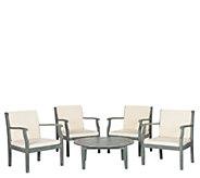 Safavieh Anaheim 5-Piece Outdoor Coffee Set - H286248