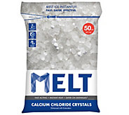 Snow Joe MELT 50-lb Bag Calcium ChlorideIce Melter - H290548