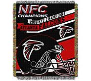 NFL NFC Champions Atlanta Falcons 48x60 Throw - H291248
