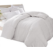 Blue Ridge Windowpane 600TC Down Alt. Full/Queen Comforter - H292548