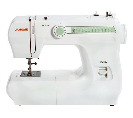 Janome 2206 Sewing Machine  QVC