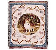 Shetland Sheepdog Throw - H361648
