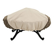 Veranda Square Fire Pit Cover by Classic Accessories - H149349