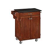 Home Styles Create-A-Cart Cherry Base w/ BlackGranite Top Sm - H150849