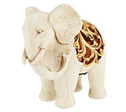 Home Reflections Elephant with Flameless Candle & Timer - H196349