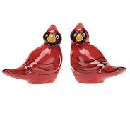 Temp-tations Figural Cardinal Salt & Pepper Shakers - H196949