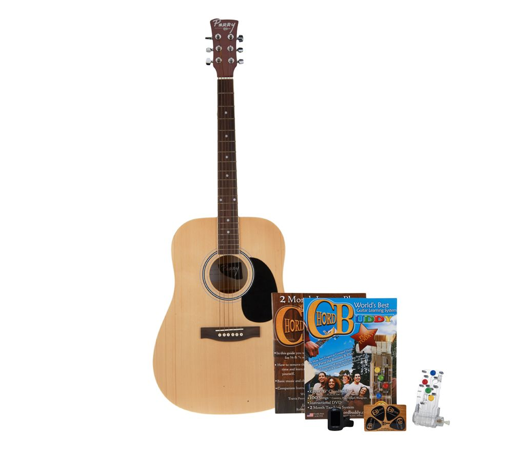 Chordbuddy fast ez guitar learning system with guitar by lori chordbuddy fast ez guitar learning system with guitar by lori greiner page 1 qvc hexwebz Image collections