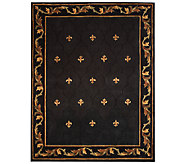 Royal Palace Special Edition Fleur De Lis 7 x 9 Wool Rug - H202649