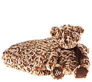 Dennis Basso Oversized Faux Fur Throw w/ Signature Teddy Bear - H203249