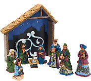 Jim Shore Heartwood Creek Miracle In The Manger Nativity Set - H205749