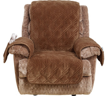 Sure Fit Corduroy Recliner Furniture Cover Qvc Com