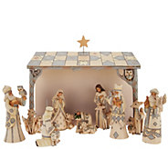 Jim Shore Woodland Collection Mini Nativity 8 Piece Set - H209649