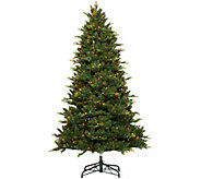 As Is Bethlehem Lights 6.5 Grand Fir Tree with Swift Lock - H210849