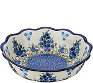 Lidias Polish Pottery Hand Painted Kora Bowl - H211349