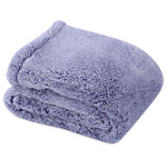 Berkshire Blanket 60 x 80 Frosted Tipped Fluffie Throw - H212249