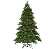 As Is Bethlehem Lights 6.5 Prelit Pine Tree - H215049