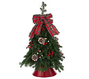 Fresh Balsam Tabletop Tree by Valerie Del Week 12/11 - H280949