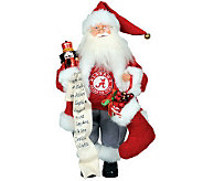 15 College Santa with Nutcracker by Santas Workshop - H281649