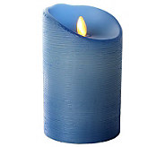 Luminara 5 Spun Wax Finish Flameless Candle w/Timer - H282249