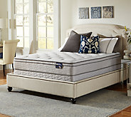 Serta Glisten Euro Top Twin Mattress Set - H286549