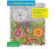 Zendoodle Coloring: Enchanting Gardens AdultColoring Book - H288149