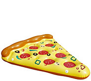 70.5 Pizza Slice Novelty Swimming Pool Raft Float - H296749