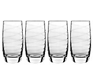 Luigi Bormioli 19-oz Romantica Beverage Glasses- Set of 4 - H364949