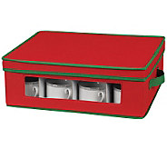 Household Essentials Holiday Cup Storage Chest - H368349
