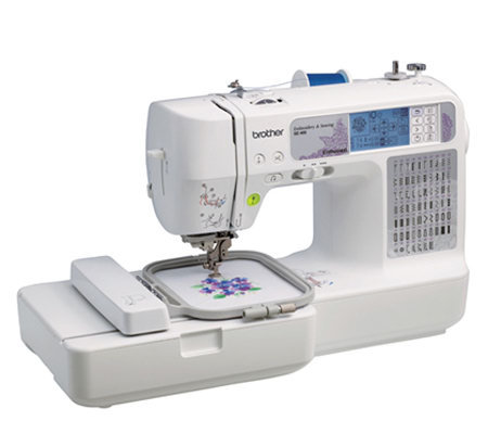 Brother SE400 Computerized Embroidery And Sewing Machine
