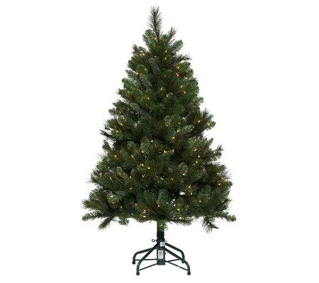 Lights 5 Trevor Pine Christmas Tree wInstant Power     QVCcom M36xezDQ