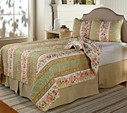 Victoria Garden King Reversible 3-pc Quilt Set - H204650
