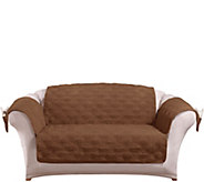 Sure Fit Corduroy Loveseat Furniture Cover - H208550