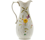 Belleek Rose Isle Garden Pitcher - H209950