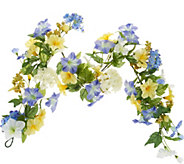 Morning Glory 4 Garland by Valerie - H213550