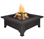 Real Flame Lafayette Wood-Burning Fire Pit - H281250