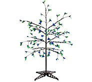 Exhart Anywhere LED Tree - 75 LEDs with Leaves - H284350