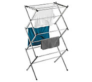 Honey-Can-Do Slim Chrome Commercial Drying Rack - H356550