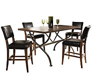Hillsdale Cameron 5pc Ctr Ht Rect Dining Set w/Parson Chairs - H358750