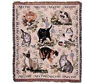 Meow Mix Throw - H361650