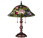 Tiffany Style 19H Rose Bush Lamp - H58150