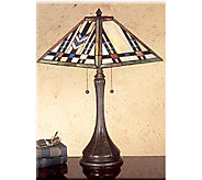Meyda Tiffany Mission Style Table Lamp - 22 Tall - H69550